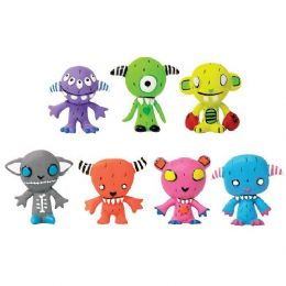 200 Units of The Gooli Toy Mini Art Monsters - Novelty Toys
