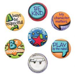 288 Units of Good Character Metal Pin - Sewing Supplies