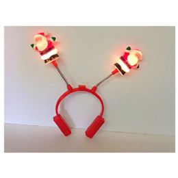 144 Units of Light Up Santa Headpiece - Light Up Toys