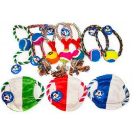 48 Units of Rope Pet Toy Assorted style - Pet Toys
