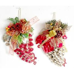 72 Units of Closeout Hanging Large Christmas Acorn - Christmas Novelties