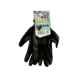 72 Units of Nitrile Coated Gloves - Working Gloves