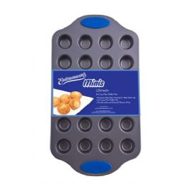 12 Units of Ultimate 24-Cup Mini Muffin Pan - Frying Pans and Baking Pans