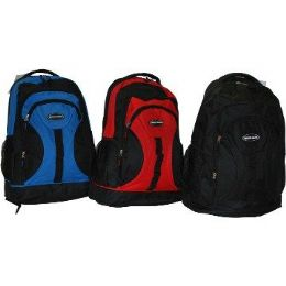 "24 Units of 18"" HeavY-Duty BackpacK-Red Only - Backpacks 18"" or Larger"
