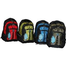 "24 Units of 19"" HeavY-Duty Backpack Mixed Color - Backpacks 18"" or Larger"
