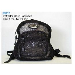"""36 Units of Polyester Mesh Backpack - Backpacks 15"""" or Less"""