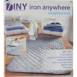 12 Units of Iron Anywhere Weighted Mat - Laundry  Supplies