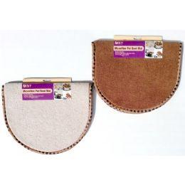 24 Units of Microfiber Pet Bowl Mat - Pet Accessories