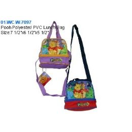 24 Units of Pooh Lunch Bag - Lunch Bags & Accessories
