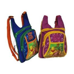 24 Units of Licensed Disney Backpack-Pooh (S) - Draw String & Sling Packs