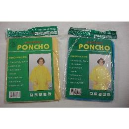 120 Units of Adult Light Weight Poncho - Umbrellas & Rain Gear