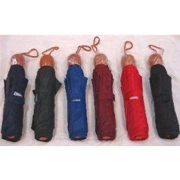 48 Units of Mini Umbrella Assorted colors - Umbrellas & Rain Gear