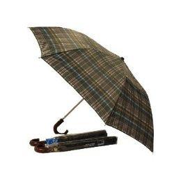"24 Units of Umbrella -48"" Auto King size W/burgundy handle - Umbrellas & Rain Gear"