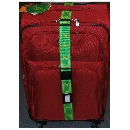 "36 Units of ""E-Z"" Luggage StraP-Green/yellow - Travel & Luggage Items"