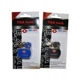 "36 Units of ""E-Z"" TSA padlock Blue and Black - Travel & Luggage Items"