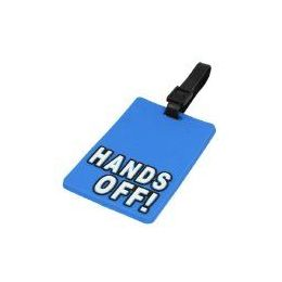 """100 Units of """"HANDS OFF"""" Luggage Tag-Blue color - Travel/ Luggage Items"""