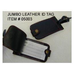 120 Units of Jumbo Leather Id Tag - ID Holders