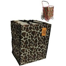 24 Units of Shopping Cart Liner-Giraffe Pattern - Shopping Cart Liner