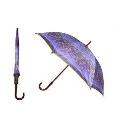 60 Units of 40 Inches 8 Ribbed Diameter Cane Printed Umbrella - Umbrellas & Rain Gear