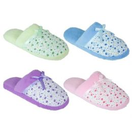 100 Units of Ladies Winter Slippers - Womens Slippers