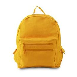 12 Units of Backpack On A Budget - Bright Yellow - Draw String & Sling Packs