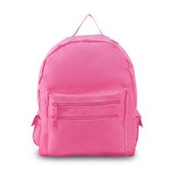 12 Units of Backpack On A Budget - Light Pink - Backpacks 16""