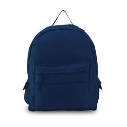 12 Units of Backpack On A Budget - Navy - Backpacks 16""