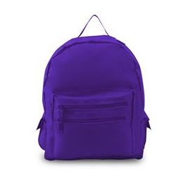 12 Units of Backpack On A Budget - Purple - Backpacks 16""