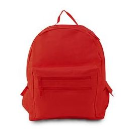 12 Units of Backpack On A Budget - Red - Backpacks 16""