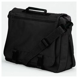 12 Units of Goh Getter Expandable Briefcase - Black - Lunch Bags & Accessories