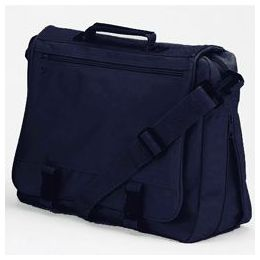 12 Units of Goh Getter Expandable Briefcase - Navy - Lunch Bags & Accessories