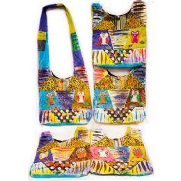10 Units of Handmade Nepal Hobo Bags Two Owls Peace Design - Handbags