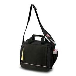 24 Units of Shoulder Briefcase - Black - Lunch Bags & Accessories