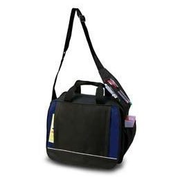 24 Units of Shoulder Briefcase - Navy - Lunch Bags & Accessories