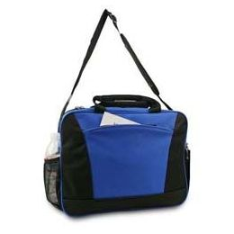 12 Units of Express Briefcase - Black And Royal - Lunch Bags & Accessories