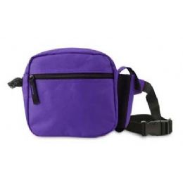 36 Units of The Companion Fanny Waist Pack - Purple - Fanny Pack