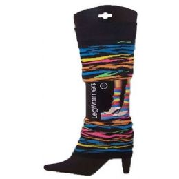 60 Units of Women's Patterned Legwarmers - Arm & Leg Warmers