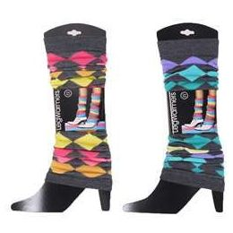 60 Units of Women's Diamond Pattern Legwarmers - Arm & Leg Warmers