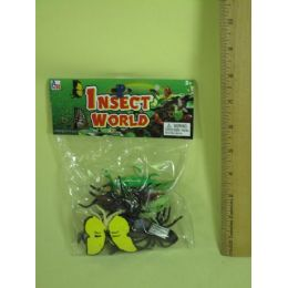 144 Units of ASSORTED INSECT FOR PLAY - Animals & Reptiles