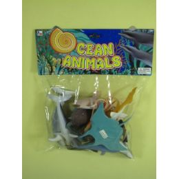 72 Units of ASSORTED OCEAN ANIMALS FOR KIDS - Animals & Reptiles