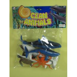 36 Units of ASSORTED OCEAN ANIMALS FOR KIDS - Animals & Reptiles
