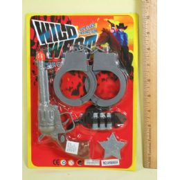 144 Units of Wild Gun Set For Play - Toy Weapons