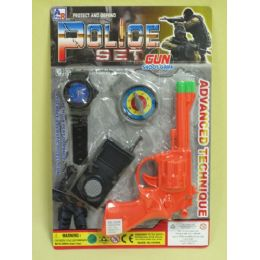 144 Units of Police Play Set - Toy Weapons
