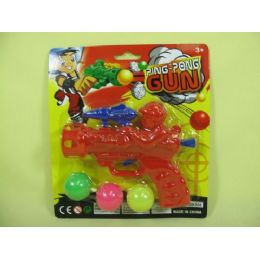 192 Units of Ping Pong Play Gun - Toy Weapons