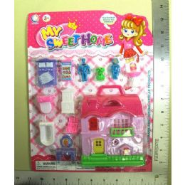 72 Units of MY SWEET HOME SET PLAY SET - Toy Sets