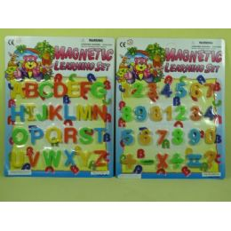 240 Units of MAGNETIC ABC - Refrigerator Magnets