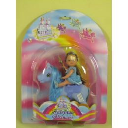 """48 Units of 4"""" DOLL AND 5"""" PONY PLAY SET - Toy Sets"""