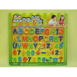 144 Units of MAGNETS ABC TOYS - Refrigerator Magnets