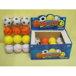 576 Units of SPORT BALL PLAY TOY - Balls