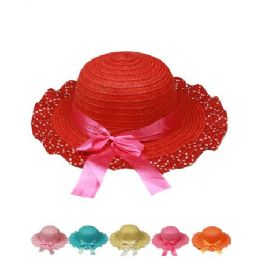 72 Units of Ab Kid Summer Hat Mix Color - Sun Hats